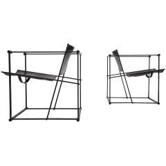 Pastoe FM61 cubic chairs Radboud van Beekum 1980