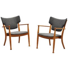 Peter Hvidt and Orla Molgaard Nielsen Portex Easy Chairs, 1944
