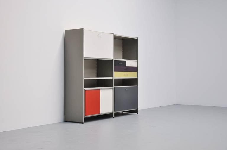 Dutch Andre Cordemeijer Gispen 5600 Cabinet 1962 For Sale