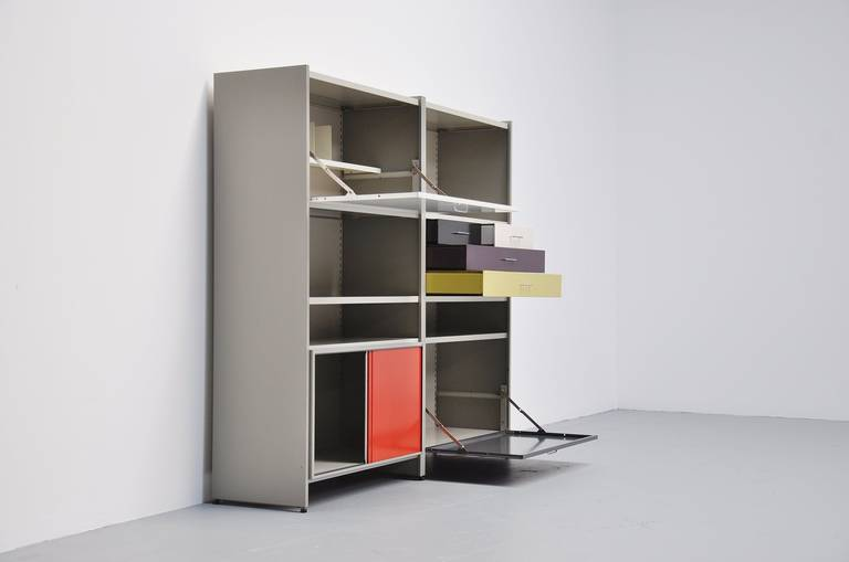 Mid-20th Century Andre Cordemeijer Gispen 5600 Cabinet 1962 For Sale