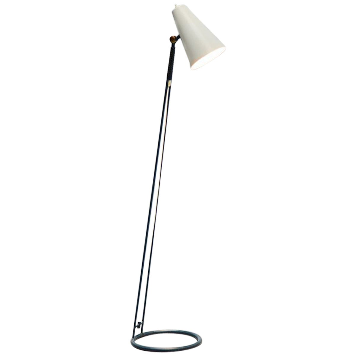Asea floor lamp adjustable sweden 1950 at 1stdibs for 1950 floor lamp