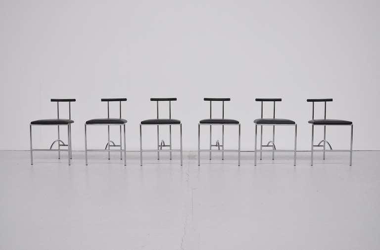 Rodney Kinsman Tokyo chairs Bieffeplast 1985 2