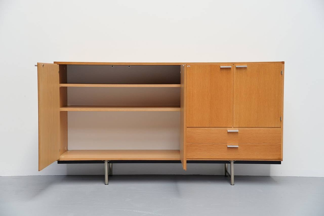 Pastoe Made To Measure Buffet In Oak Holland 1965 For Sale At . Full resolution  photograph, nominally Width 1280 Height 854 pixels, photograph with #9B6230.