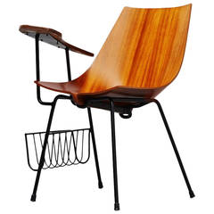 Vittorio Nobili Attributed Side Chair, Italy, 1950