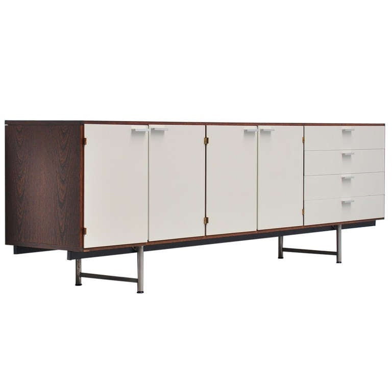 pastoe made to measure wenge sideboard 1960 at 1stdibs. Black Bedroom Furniture Sets. Home Design Ideas