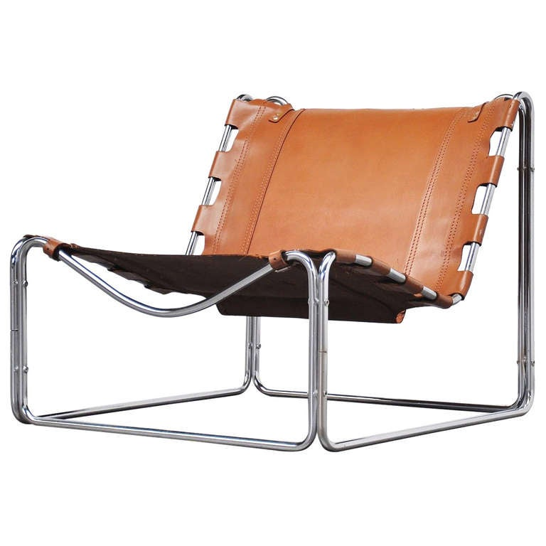 Pascal Mourgue Fabio Lounge Chair for Steiner France 1970 1