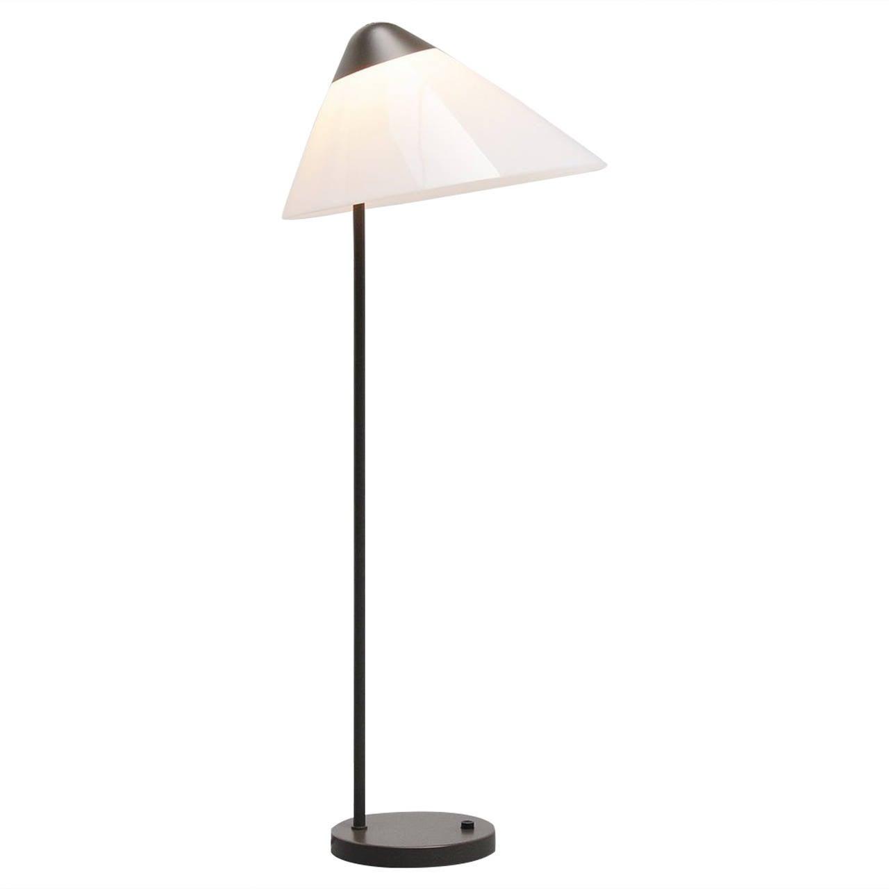 Splinternye Hans Wegner Opala Floor Lamp, Louis Poulsen 1975 For Sale at 1stdibs OF-13