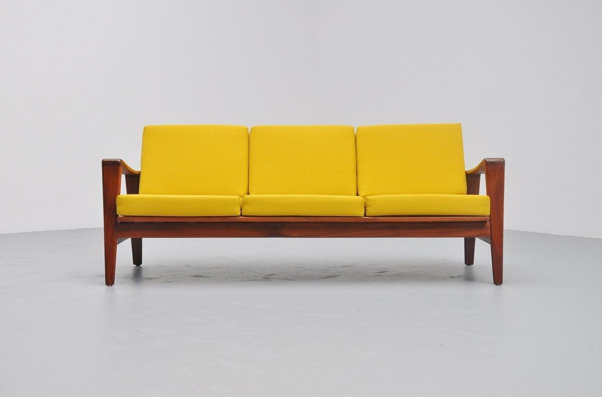 Arne Wahl Iversen Lounge Sofa, Komfort, Denmark, 1960 2