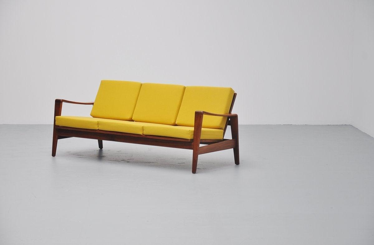 Arne Wahl Iversen Lounge Sofa Komfort Denmark 1960 At 1stdibs