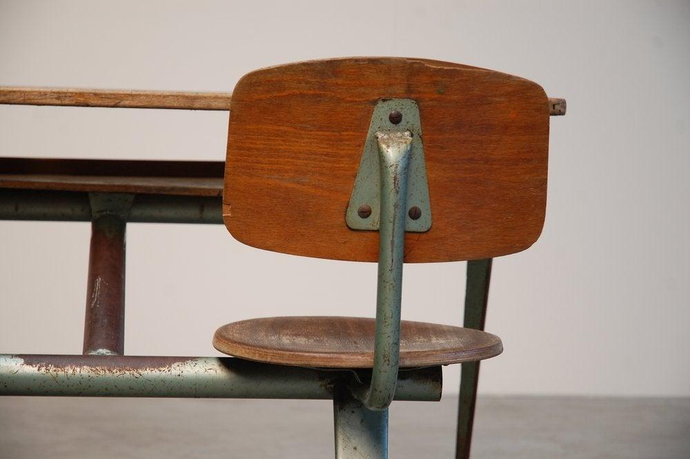 Jean Prouve Compass school desk for Ateliers Jean Prouve 9
