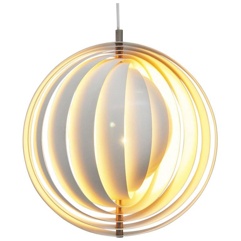 Verner Panton Moon Lamp Louis Poulsen 1960 At 1stdibs