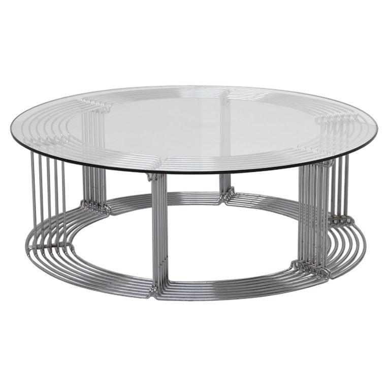 verner panton pantonova coffee table fritz hansen at 1stdibs. Black Bedroom Furniture Sets. Home Design Ideas