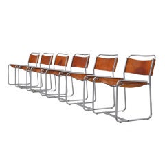 Claire Bataille SE18 't Spectrum dining chairs