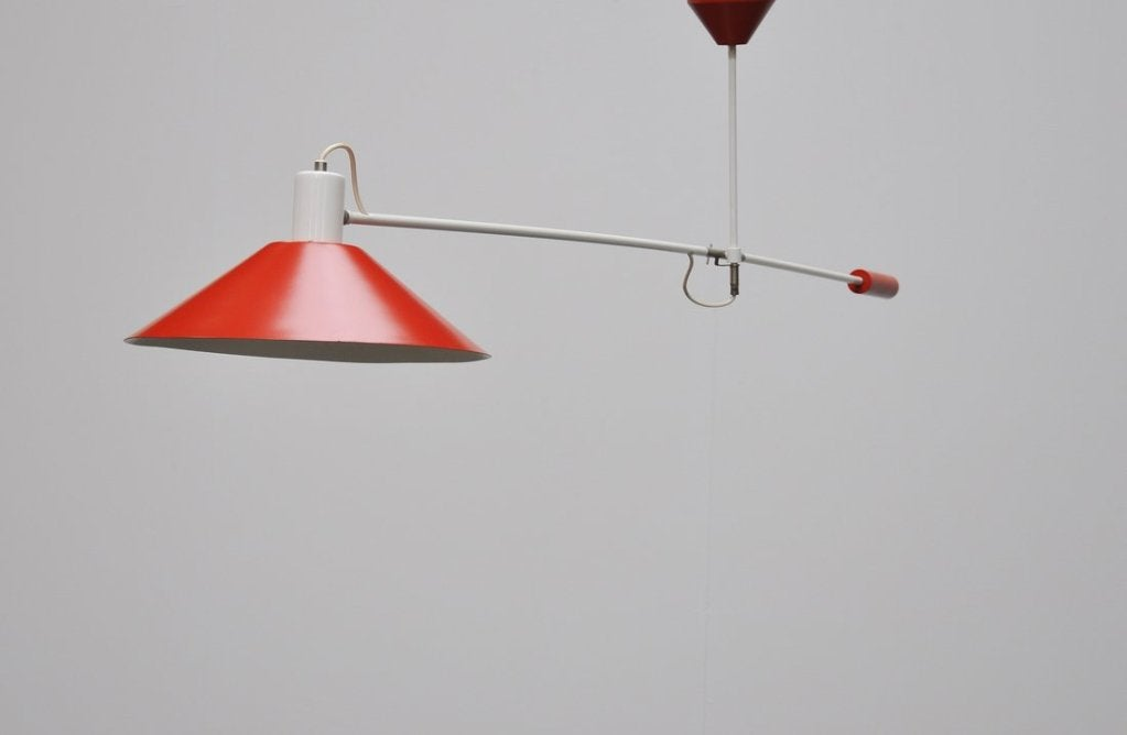 Mid-20th Century Anvia Counter Balance Lamp by JJM Hoogervorst