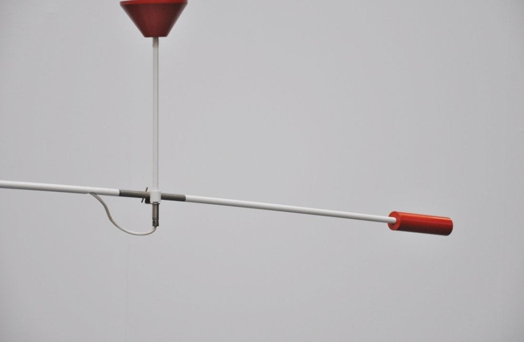 Metal Anvia Counter Balance Lamp by JJM Hoogervorst