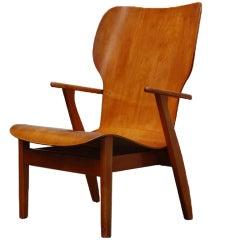 Ilmari Tapiovaara Domus Lux lounge chair