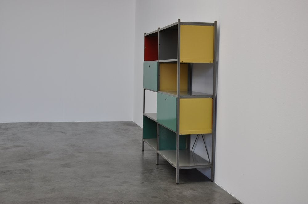 wim rietveld 663 gispen bookcase unit at 1stdibs