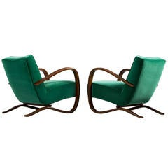 1930s Easy Chairs by Jindrich Halabala, Czech Republic