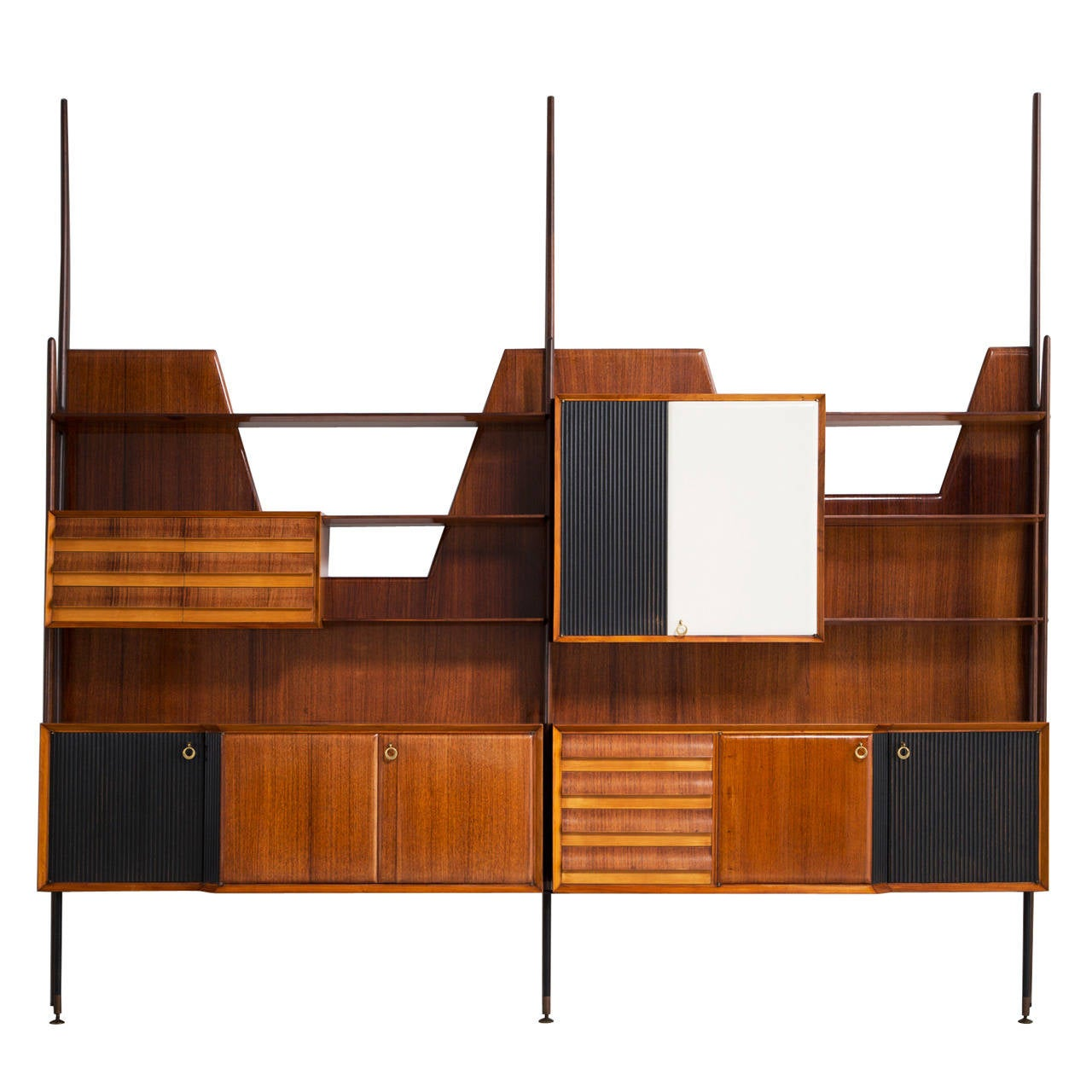 Expressive High Italian Wall Console Designed For Dassi