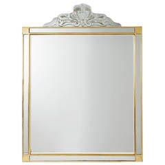Large Italian Mirror, 1950s