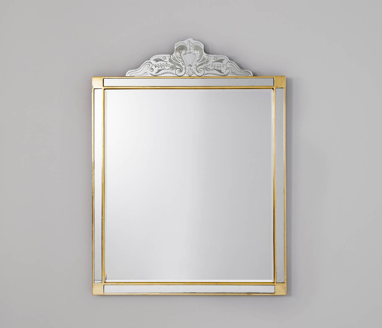 Large italian mirror 1950s for sale at 1stdibs for Big mirrors for sale