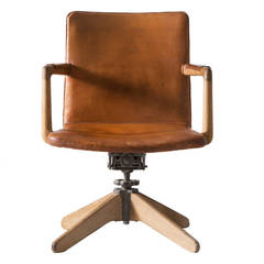 Early Hans Wegner Desk Chair by Plan Møbler, 1940s