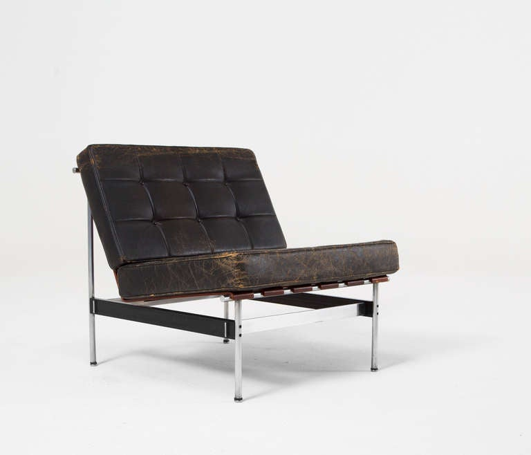 Sofa and matching lounge chair by kho liang le for for Matching lounge furniture