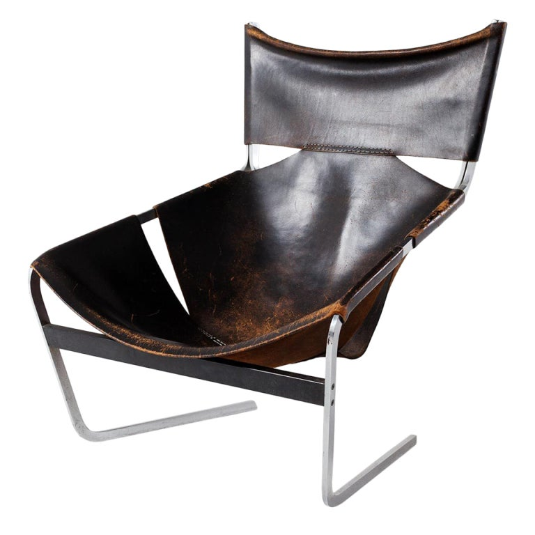 F 444 lounge chair by pierre paulin for artifort aged for Artifort chaise lounge