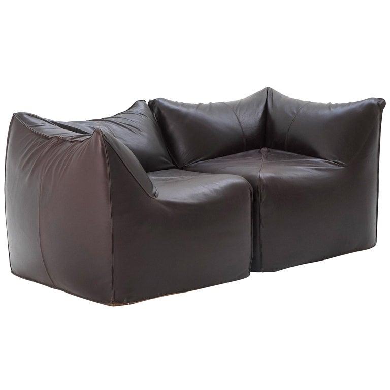 Pair Of 2 Bambole Corner Chairs By Mario Bellini By B Amp B