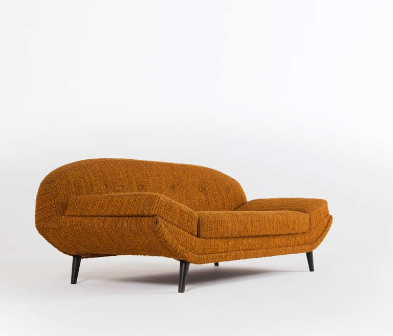 Orange Day Bed Sofa By Folke Jansson For Sale At 1stdibs