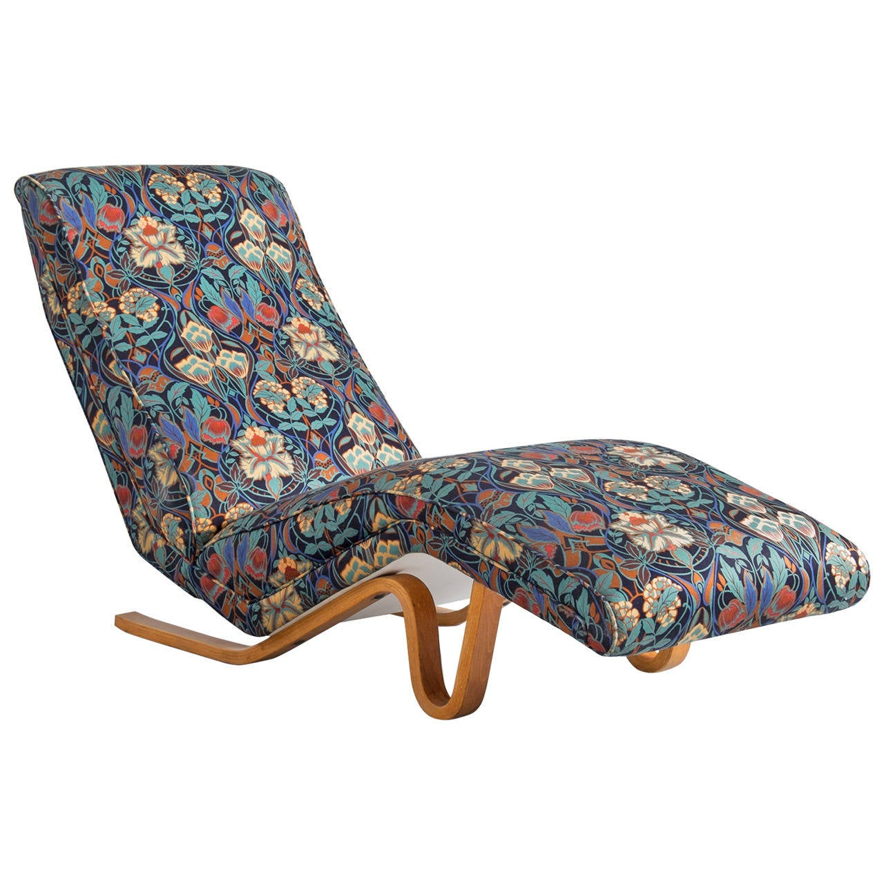 Chaise longue by andrew j milne london 1950s at 1stdibs for Chaise longue london