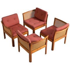 Two Sets of Chairs/Sofa by Illum Wikkelsø