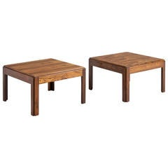 Set of Two Illum Wikkelsø Side Tables