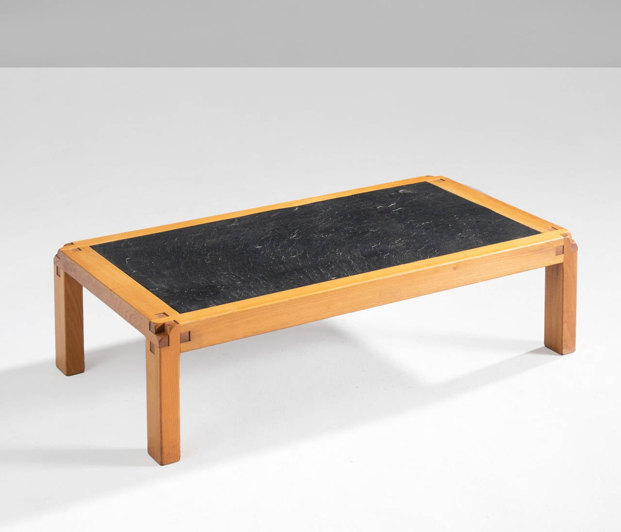 Pierre Chapo Coffee Table 39 T 18 39 In Elm For Sale At 1stdibs