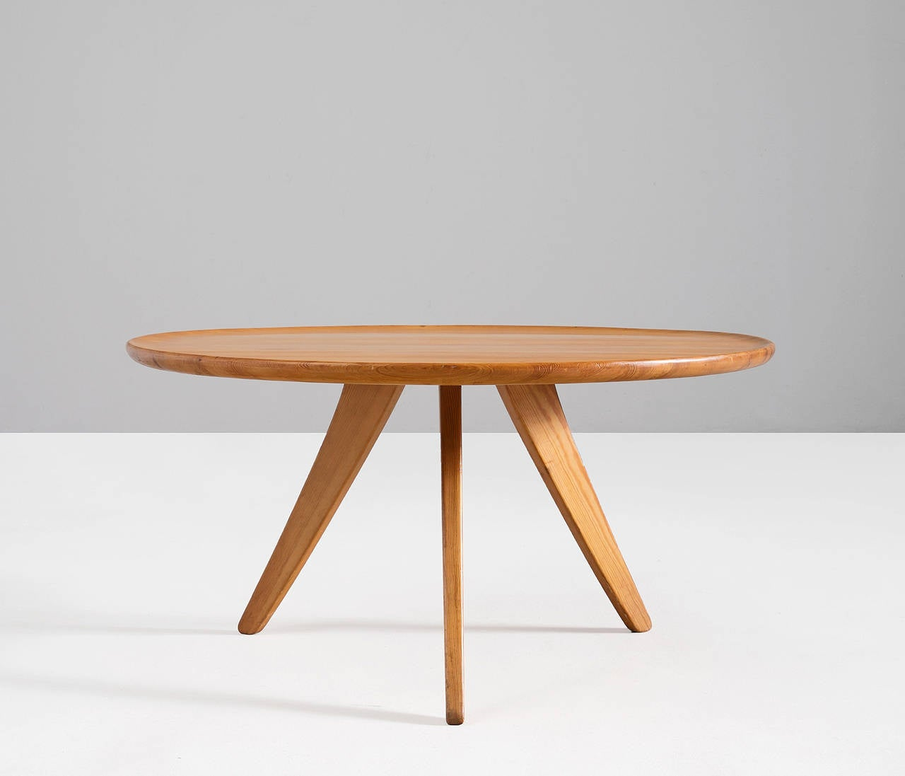 Carl Malmsten Cocktail Table In Solid Pine Wood For Sale At 1stdibs