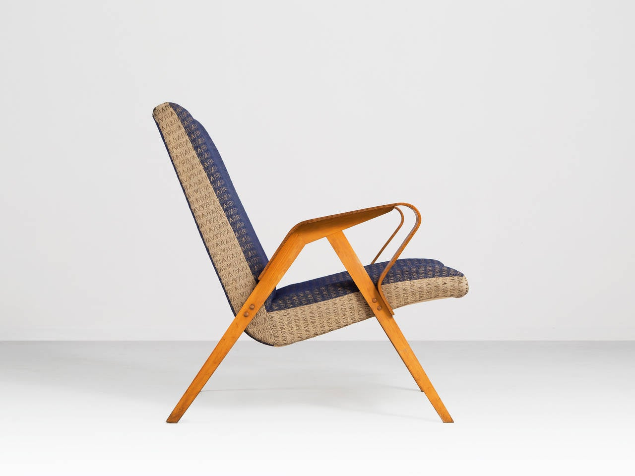 Early 1950s Plywood Lounge Chairs For Sale At 1stdibs