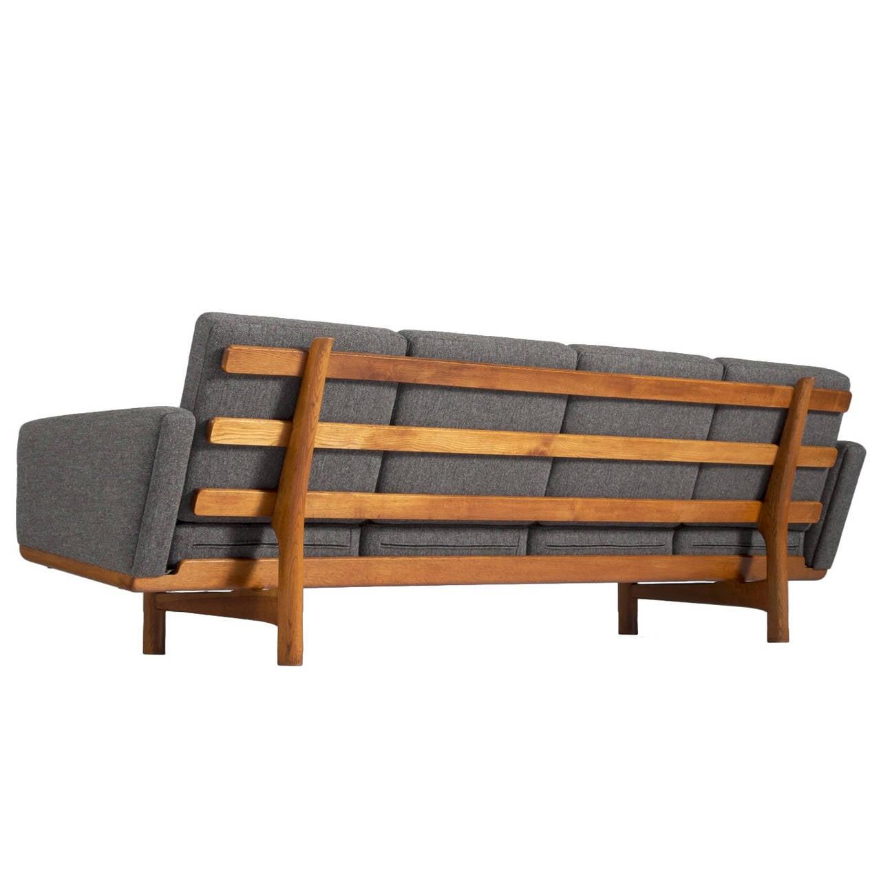 hans j wegner sofa model ge 236 4 for getama for sale at. Black Bedroom Furniture Sets. Home Design Ideas