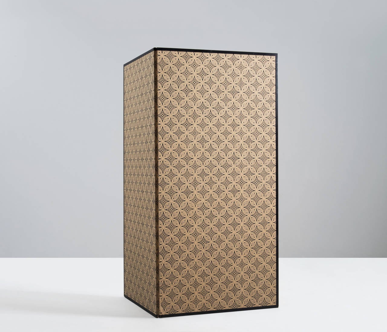 Mid-Century Modern Gold Leaf Room Divider / Screen For Sale