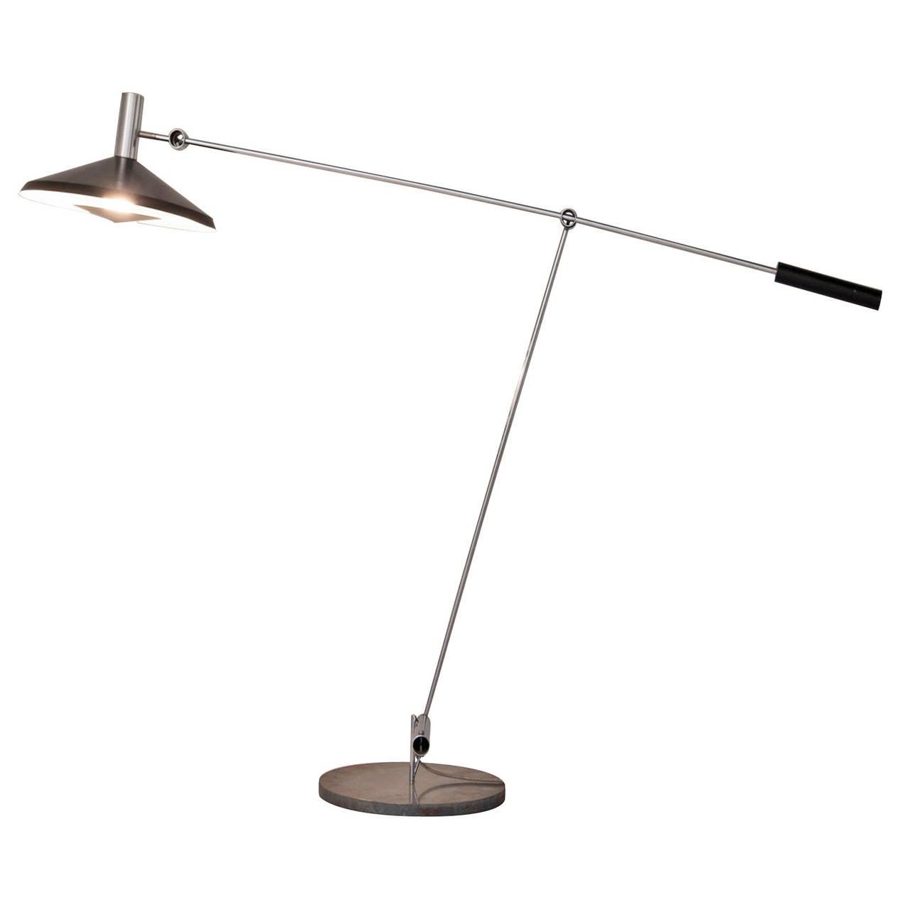 Rico & Rosemarie Baltensweiler Floor Lamp For Sale