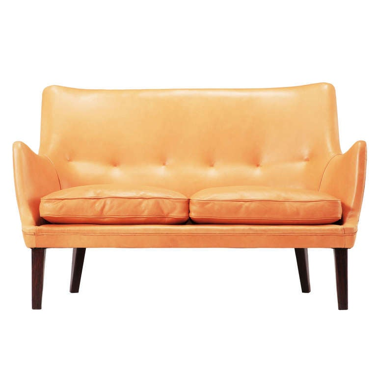 Loveseat by Arne Vodder for Ivan Schlechter 1953 Denmark