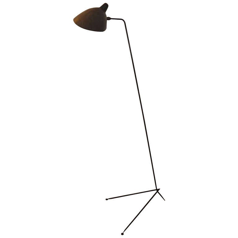 Serge mouille original lampadaire simple 1953 at 1stdibs - Lampadaire serge mouille ...