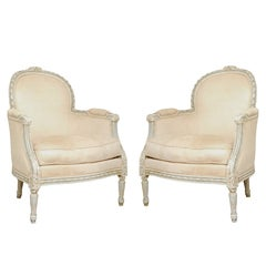A Pair of 19th Century French Armchairs