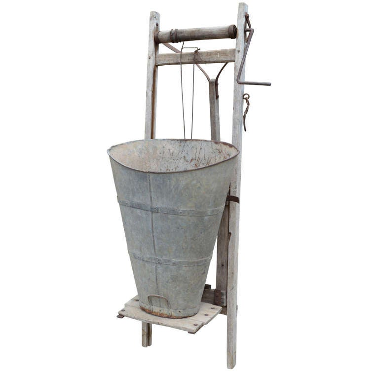 Antique  French Grape Hod and Winch SHOP SMALL SALE