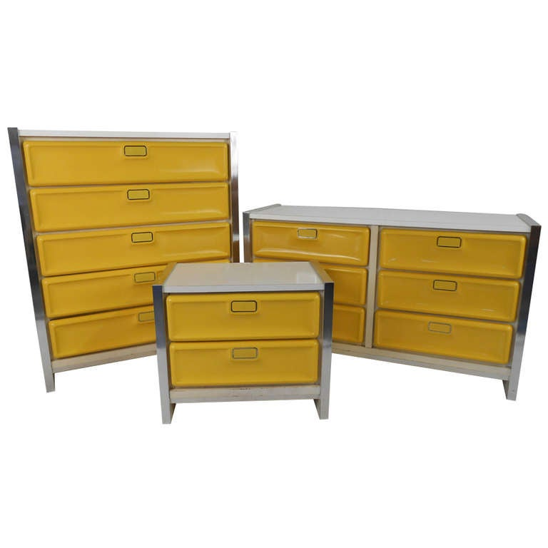 1970s Loewy Style Dressers At 1stdibs