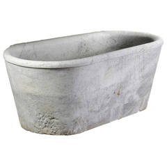 Early 19th Century Italian Marble Bath in the Manner of Antique Examples