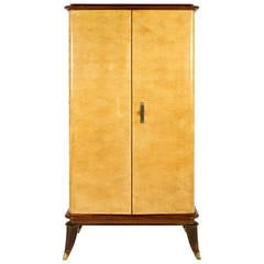 Rare art deco cabinet by maurice and leon jallot 1930 at for Deco meuble leon