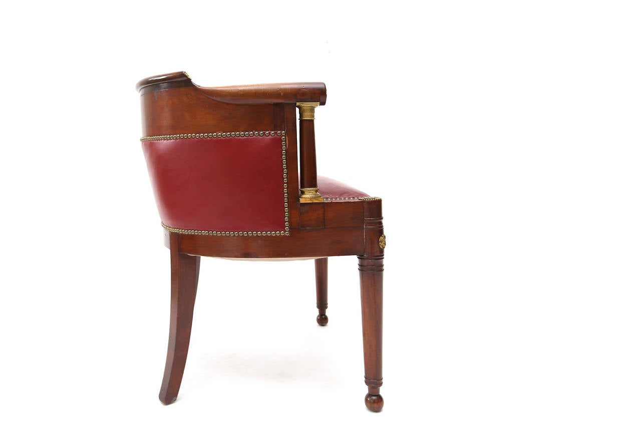 Empire Desk Chair At 1stdibs