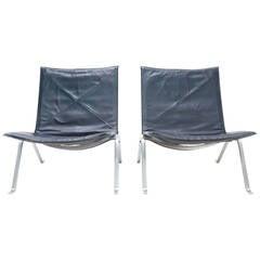 Pair of Original Kold Christensen PK22 Chairs