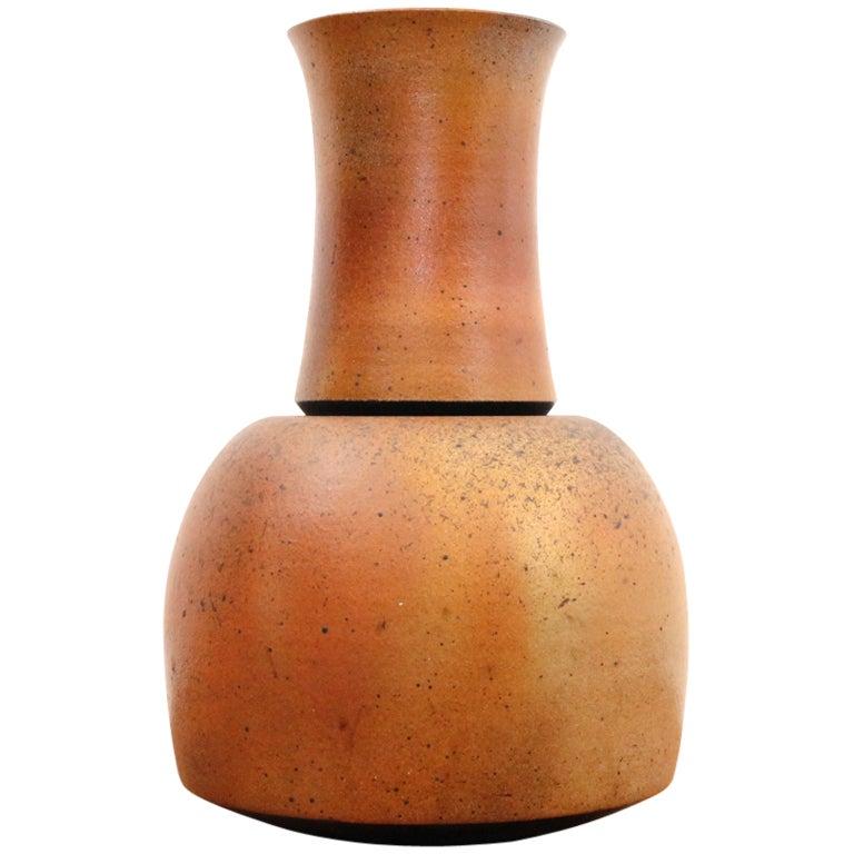 German Studio Pottery Vase For Sale