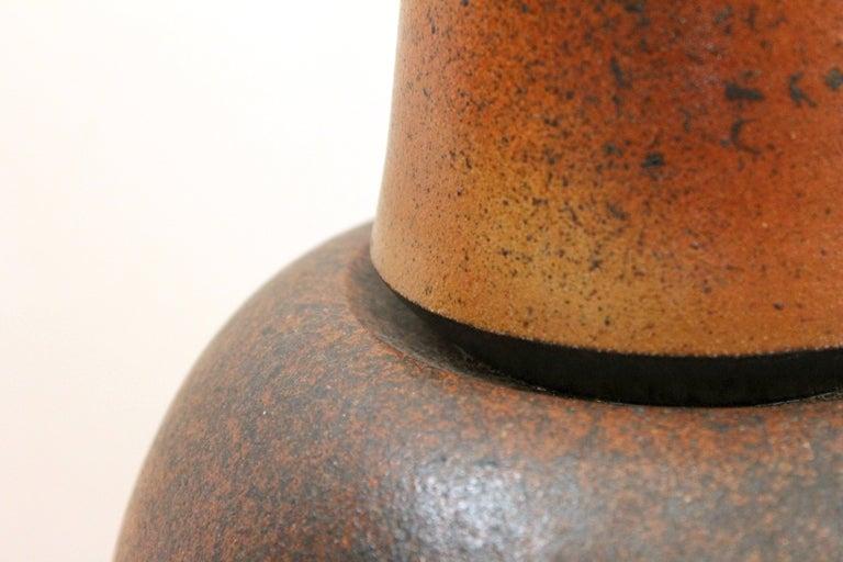 20th Century German Studio Pottery Vase For Sale